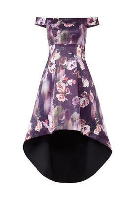 Dark Floral Dress by Slate & Willow