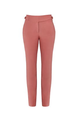 Anson Stretch Slim Pants by Tibi