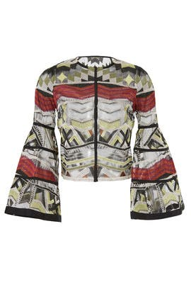 Sheer Gem Jacket by Alexis