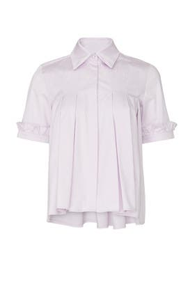 Lilac Heather Top by Hunter Bell
