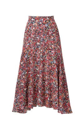 Printed Ida Skirt by SALONI