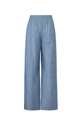 Anika Chambray Pants by Elizabeth and James