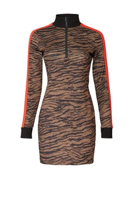 Tiger Track Dress by Pam & Gela