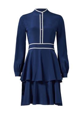 Navy Winston Dress by Tory Burch