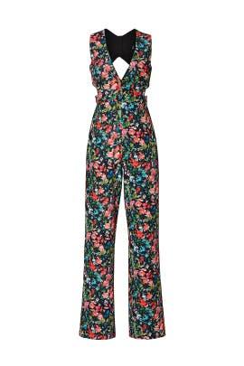 Floral Print Jumpsuit by Aidan AIDAN MATTOX