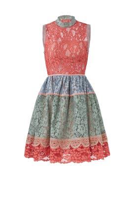 Multicolor Vedette Dress by Alexis