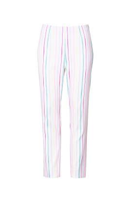 Pastel Striped Pants by Badgley Mischka