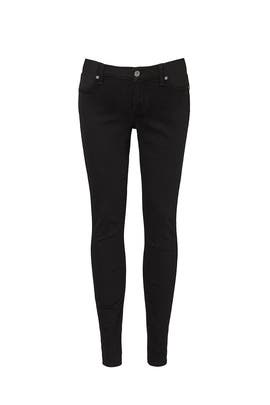 Bair Black Maternity Ankle Skinny Jeans by 7 For All Mankind