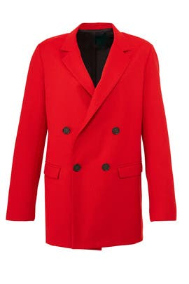 Red Suiting Blazer by Nicholas