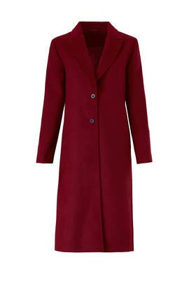 Wine Quarter Coat by The Fifth Label