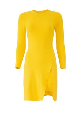 Yellow Hadley Dress by A.L.C.