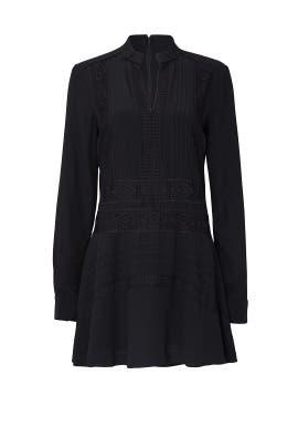 Black Lace Shift Dress by Derek Lam 10 Crosby