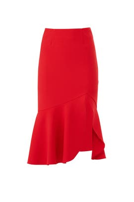Red Goodbye Skirt by FINDERS KEEPERS