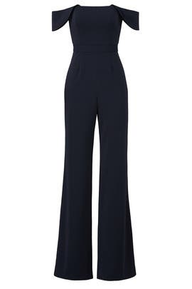 Midnight Brin Jumpsuit by Jay Godfrey