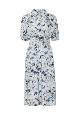 Blurred Poplin Shirtdress by Jason Wu