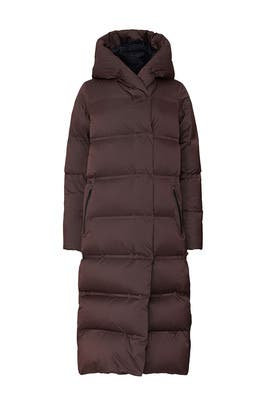 Purple Cloudscape Puffer Coat by Lululemon