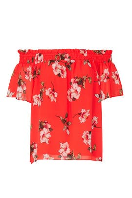 Floral Off Shoulder Top by RACHEL ROY COLLECTION