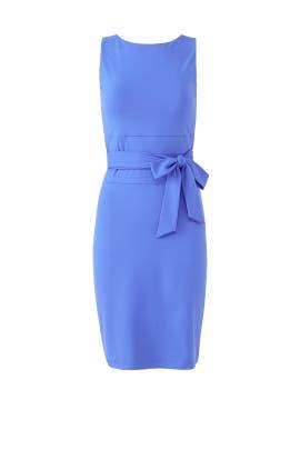 Blue Tie Waist Sheath by Susana Monaco