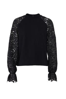 Black Dahlia Sweatshirt by Three Floor