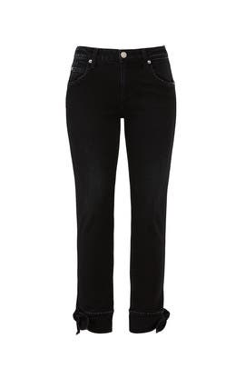 Tie Ankle Jeans by AMO