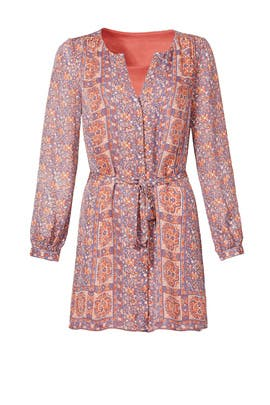 Terracotta Shirt Dress by Joie