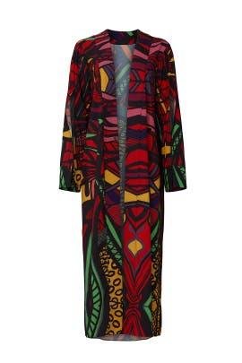 Multi Print Kimono by Kahindo