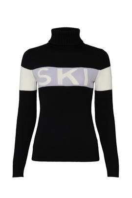 Black Ski Sweater by Perfect Moment