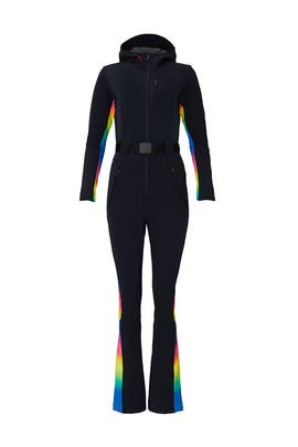 Black Rainbow Ski Suit by Perfect Moment