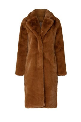 Siena Faux Fur Coat by Apparis