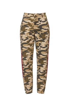 Camo Canvas HR Trousers by Joe's Jeans