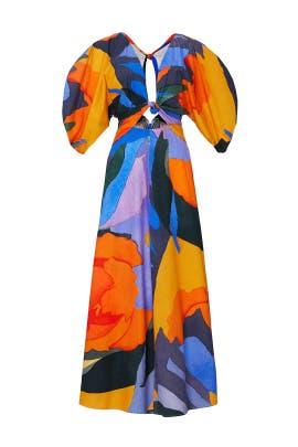Printed Leila Dress by Mara Hoffman