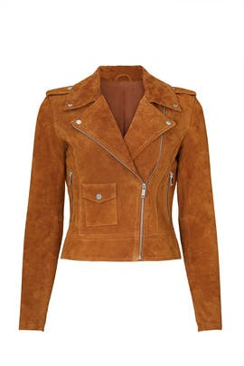 Suede Moto Jacket by Slate & Willow