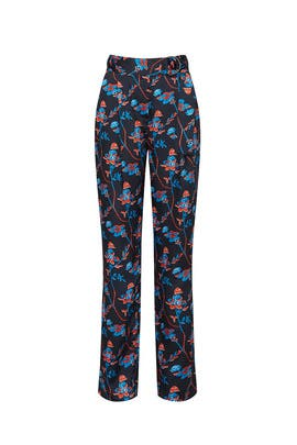 Daisy Printed Pants by Thakoon Collective