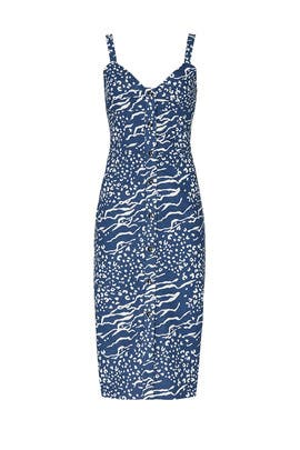 Printed Antonia Dress by Tanya Taylor