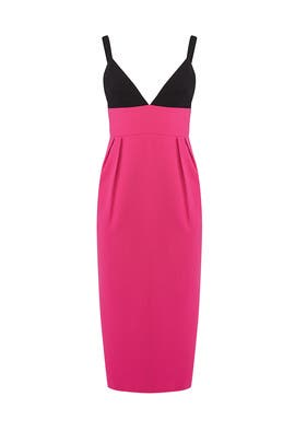 Begonia Pink Colorblock Sheath by Jill Jill Stuart