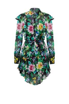 Bright Floral Printed Dress by Marissa Webb