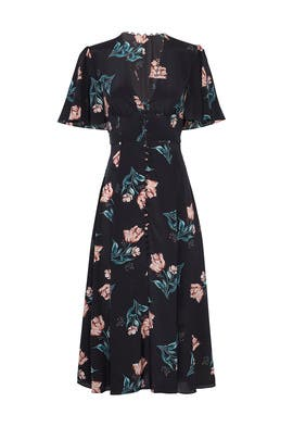 Floral Piper Dress by Nicholas