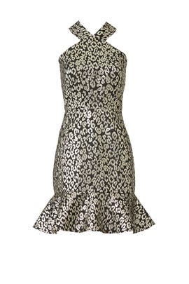 Metallic Leopard Dress by Slate & Willow