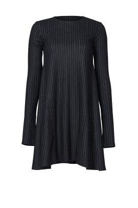 Geremy Pinstripe Dress by Theory