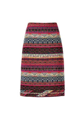 Multi Baja Crissy Skirt by Trina Turk