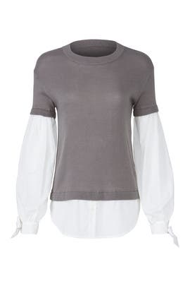 Grey Flare Sweater by devlin