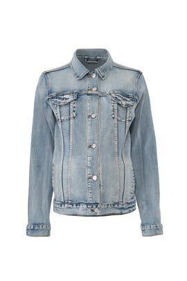 Mama Maternity Denim Jacket by Ingrid & Isabel