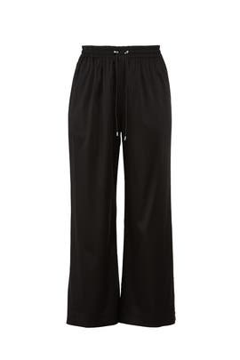 Satin Buttoned Track Pants by Jonathan Simkhai