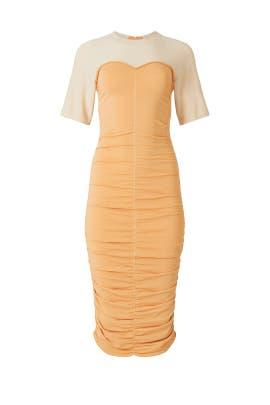 Charleigh Ruched Tee Dress by Jonathan Simkhai