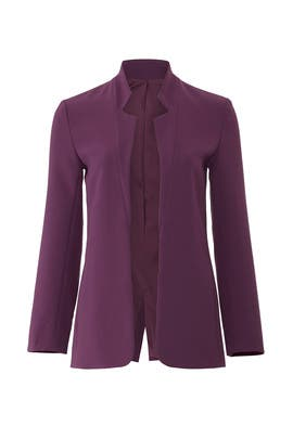 Eggplant Clarkson Blazer by Of Mercer