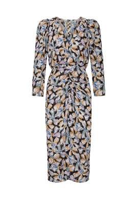 Long Sleeve Bow Fleur Dress by Rebecca Taylor