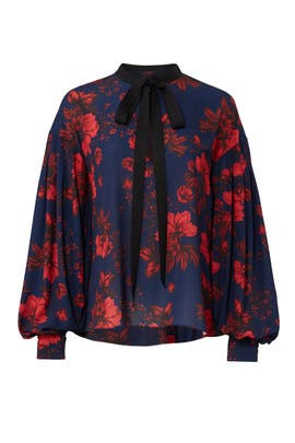 Midnight Floral Top by Sachin & Babi