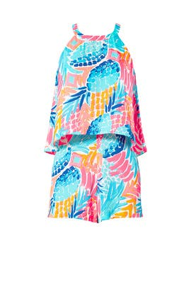 8dd791bf6baef5 Blue Dusk Jumpsuit by Lilly Pulitzer for $35 - $45 | Rent the Runway