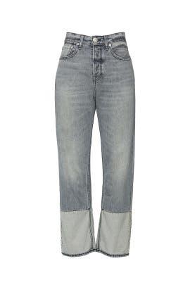 Rigid Maya High Rise Ankle Straight Jeans by rag & bone JEAN