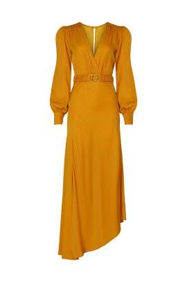 Yellow Estelle Dress by Ronny Kobo